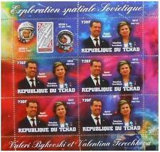 VOSTOK 5&6 space V Bykovski V Tereshkova D Medvedev Tchad 2013 m/s #tchad2013-60