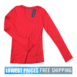 a603309f ... Tommy Hilfiger Black Round Neck Long Sleeves For Women | Souq; Tommy ...