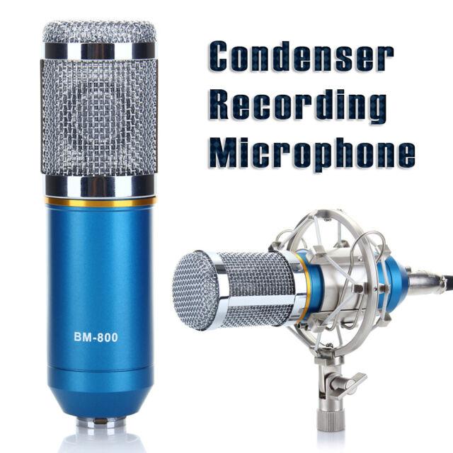 Pro Record Condenser Dynamic Microphone Mic Sound Studio Recording + Shock Mount