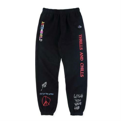 NEW Travis Scott Astroworld Pants Hip Hop Sweatpant Fashion Casual Trousers