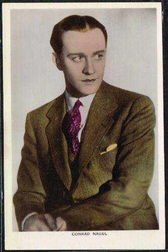 COLOURGRAPH C Series 1930s Colour Film Star Postcards #51 to #100 PICTUREGOER