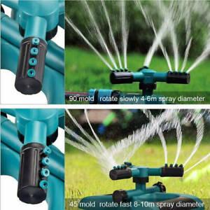 360° Automatische Gartensprenger Rasensprenger Regner Sprinkler-Kreisregner