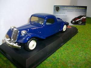 Citroën Traction Coupe Bleu Au 1/43 D Elysee 525 Voiture Miniature De Collection