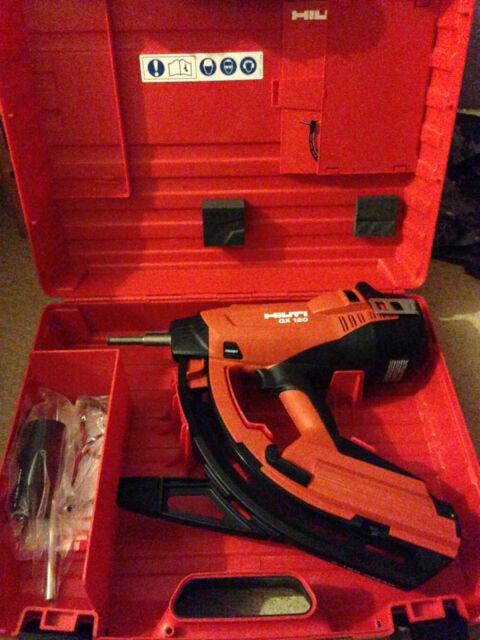 New Hilti GX 120 Nail Gun, 2013 Year