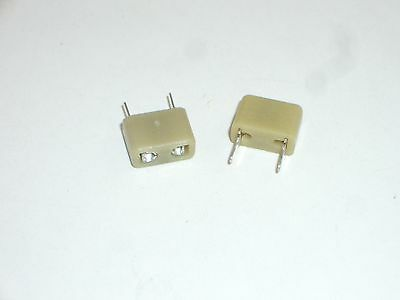 2 PC SET HPCS-25 HC-25U PLASTIC RADIO SCANNER CRYSTAL SOCKET