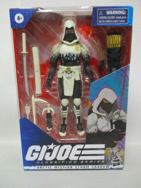 "2020 HASBRO G.I. JOE CLASSIFIED SERIES 6"" ACTION FIGURE ARCTIC STORM SHADOW NEW"