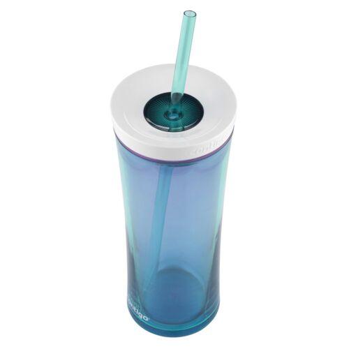 Contigo AUTOCLOSE Shake /& Go Travel Tumbler 20 oz environ 566.98 g Scuba Blue /& Bubblegum 2-pack