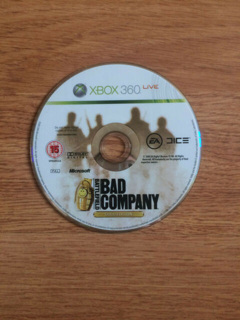 Battlefield: Bad Company Gold Edition for Xbox 360 *Disc Only*