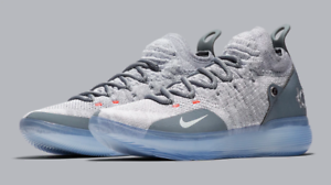 new style f6db4 9c330 Image is loading Nike-Zoom-KD-11-Cool-Grey-EP-XI-