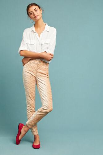 27 Bukser High Ankle Nwt Jeans skinny Anthropologie Størrelse Velvet qHYwHS87