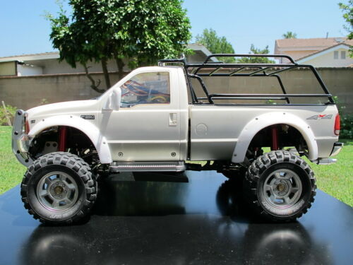 Tamiya RC 1//10 Ford F350 Add-on set White Rubber Fender Flare Flares Protector
