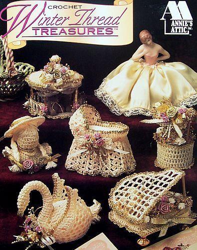 Crochet Winter Thread Treasures  Annie/'s Attic