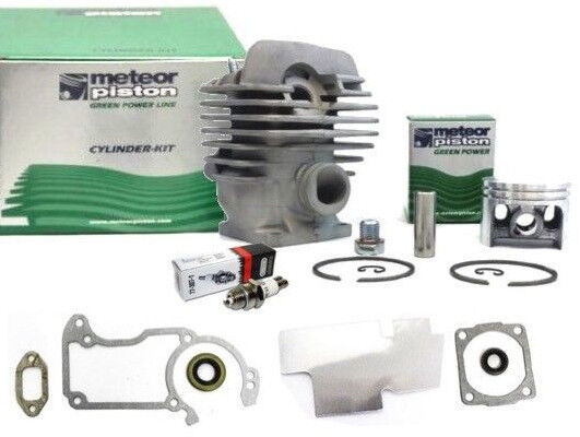 Meteor cylinder piston kit for Stihl MS260, 026 Big Bore 44 7mm w/ gaskets  seals