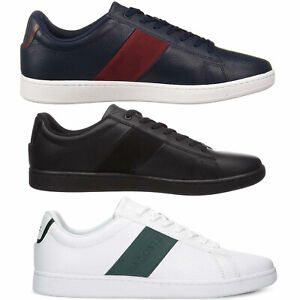 NEW Lacoste Mens Casual Shoes Carnaby EVO Lace-Up Fashion Sneakers