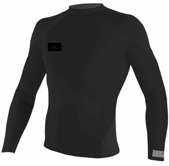 Oneill Superfreak 1mm Long Sleeve Crew Wetsuit Jacket Black