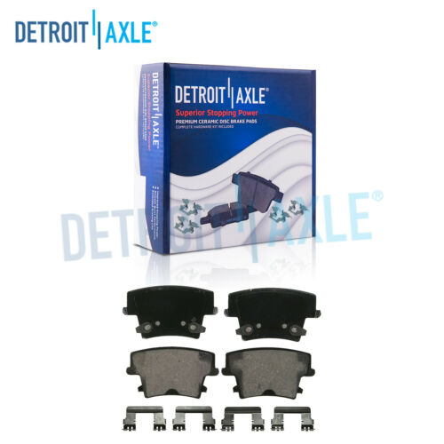 Rear Ceramic Brake Pads /& Hardware for 5.7L or AWD Charger Challenger 300