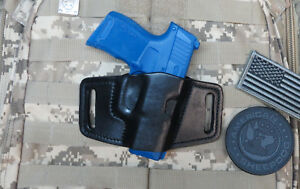Off Duty Leather Holster Fits Sig Sauer P365, OWB  Concealed Carry Made in USA