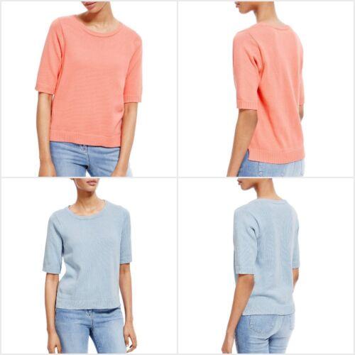 Fa M ou S High Street Store WOMEN'S Staynew ™ Girocollo Puro Cotone Maglione