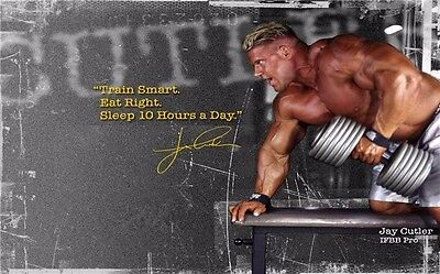 """Man Bodybuilding Motivational Male Fitness Gym Quotes Poster 21/""""x13/"""" 009"""