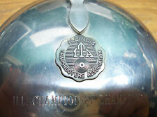 Stieff Pewter Silent Butler P20-26 Illinois/Ill. Champion Trap-shooters Lot#E7