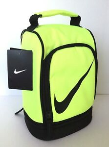 332a010d48d0 Nike Dome Lunch Box Tote School Bag boy girl Insulated Volt or Pink ...