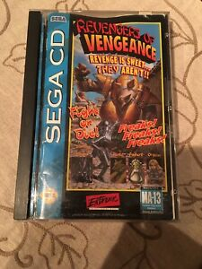 Revengers-of-Vengeance-Sega-CD-1994-Complete-CIB-Working-Perfectly-Auth