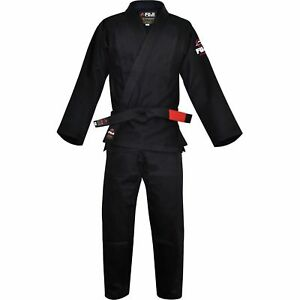 df9cfb6fdd91 Fuji All Around BJJ Gi Black (single Weave) A1