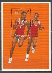 San-Vincent-Hojas-Yvert-342-MNH-Olympics-Of-Atltanta