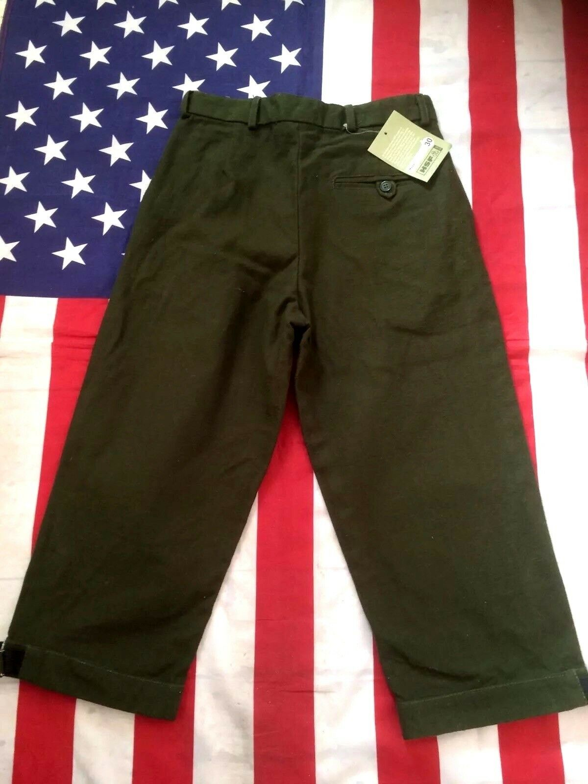 Mens Moleskin Shooting Breeks Breeches Trousers  Waist 30'  NEW WITH TAGS
