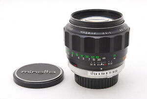 【MINT】MINOLTA MC ROKKOR 85mm F/1.7 SR MD Mount  Lens From JAPAN