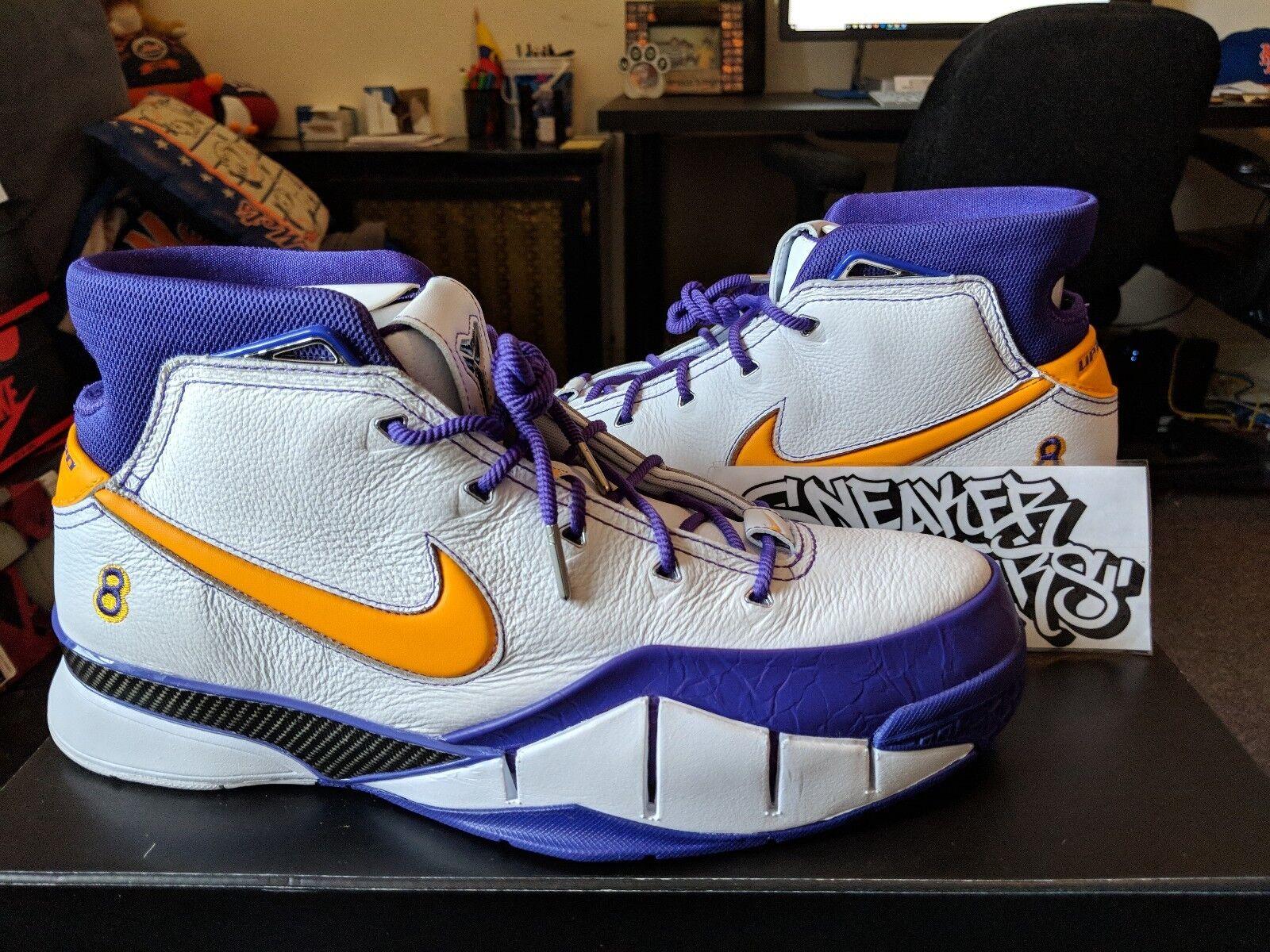 Nike Kobe 1 I protro creo del sol blanco creo protro que 16 cerrar segundos finales aq2728-101 marca de descuento f06845