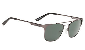 1af4c23102 Image is loading SPY-Optic-Westport-Sunglasses-Gunmetal-Frame-Happy- Polarized-