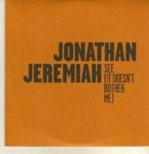 (CP507) Jonathan Jeremiah, See (It Doesn't Bother Me) - 2010 DJ CD