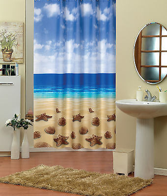 "New Elegant Fabric Shower Curtain In Different Patterns 180 X 180CM (71"" X 71"")"
