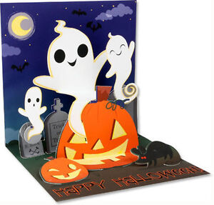 image is loading silly ghosts pop up halloween card greeting card