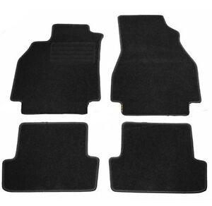 4 tapis de sol velour pour renault megane 2 systeme de fixations ebay. Black Bedroom Furniture Sets. Home Design Ideas