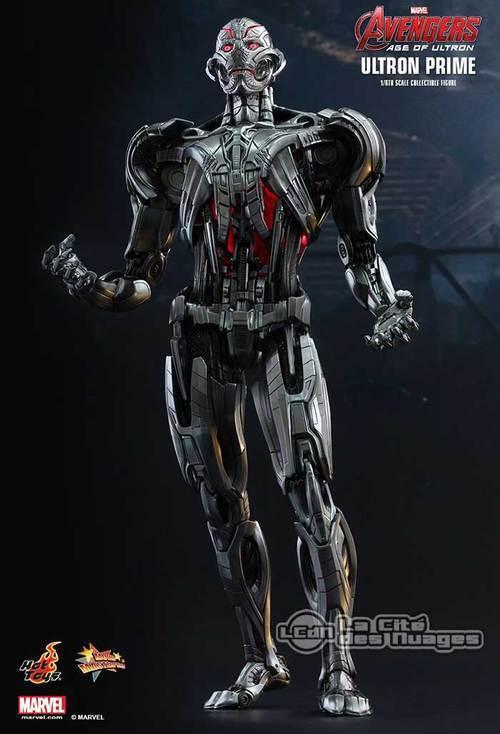 Hot Toys Avengers Age of Ultron Ultron Prime Figure MMS284 1 6 EN IN STOCK MISB