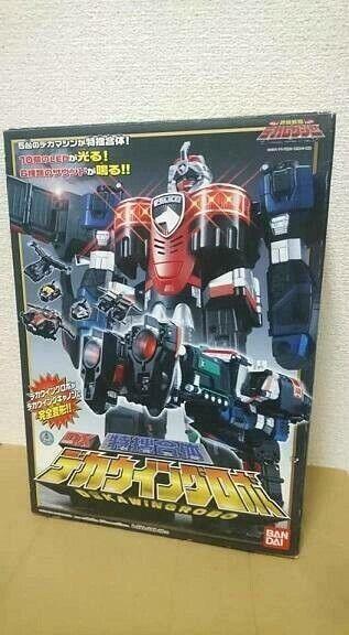 Power Rangers SPD Supreme SWAT Megazord Dekawingrobo Megazord Rare [From Japan]