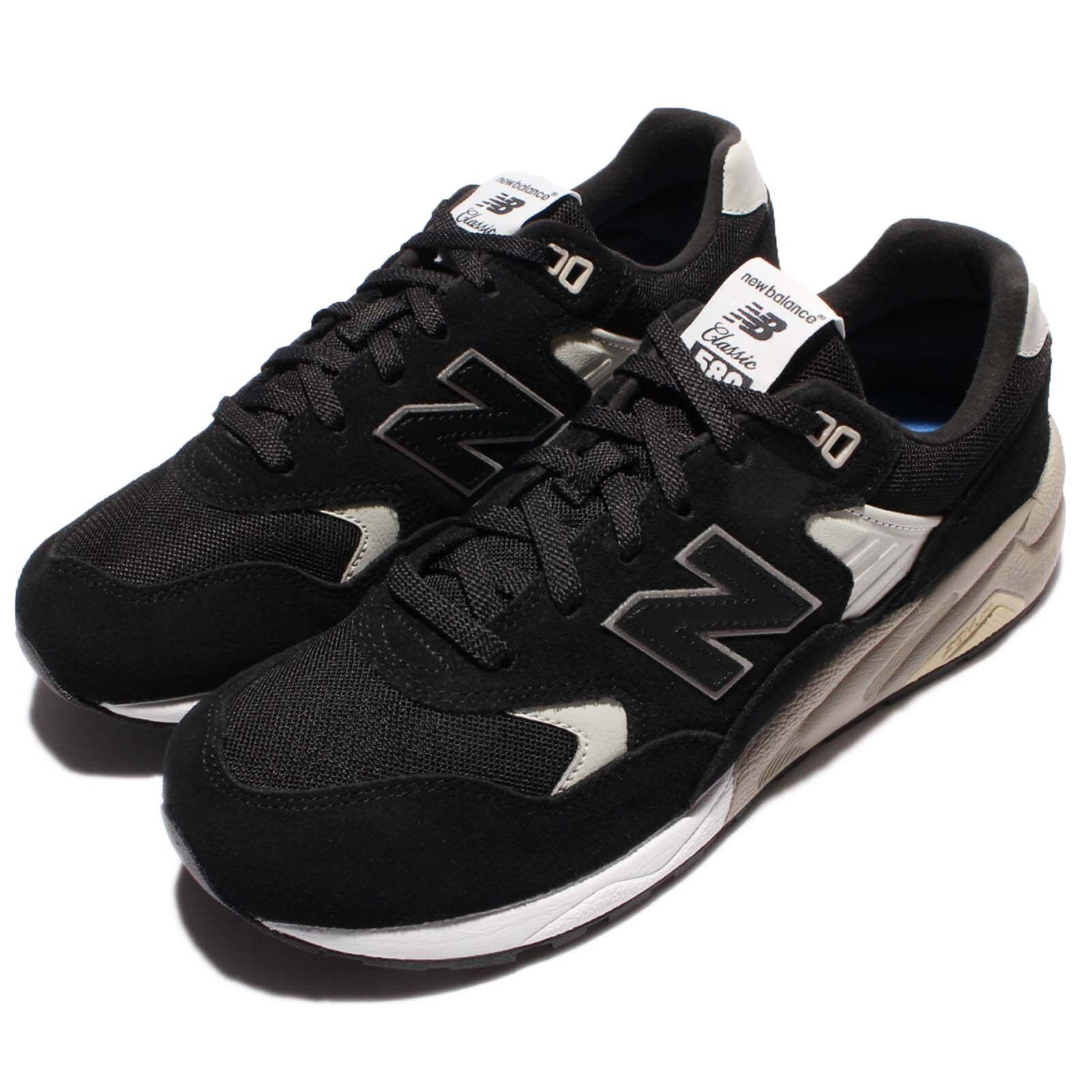 New Balance MRT580BN D Black Grey Suede Men Running Shoes Sneakers MRT580BND