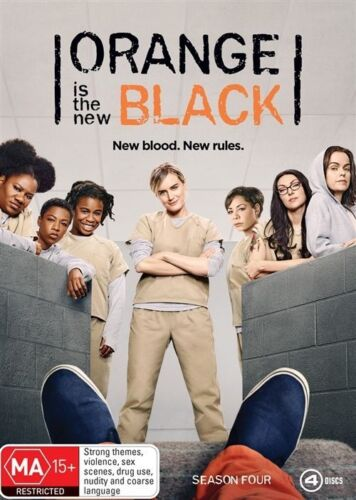 1 of 1 - Orange Is The New Black : Season 4 (DVD, 2017, 4-Disc Set)
