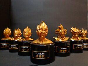 Dragon-Ball-Z-Georgia-Limited-Collaboration-Figure-All-7-Set-Rare-Gold