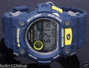 LiebenswüRdig G-7900-2 Blue Casio Herrenuhr G-shock Mineralglas Digital 200m Resin Band Guter Geschmack Armbanduhren