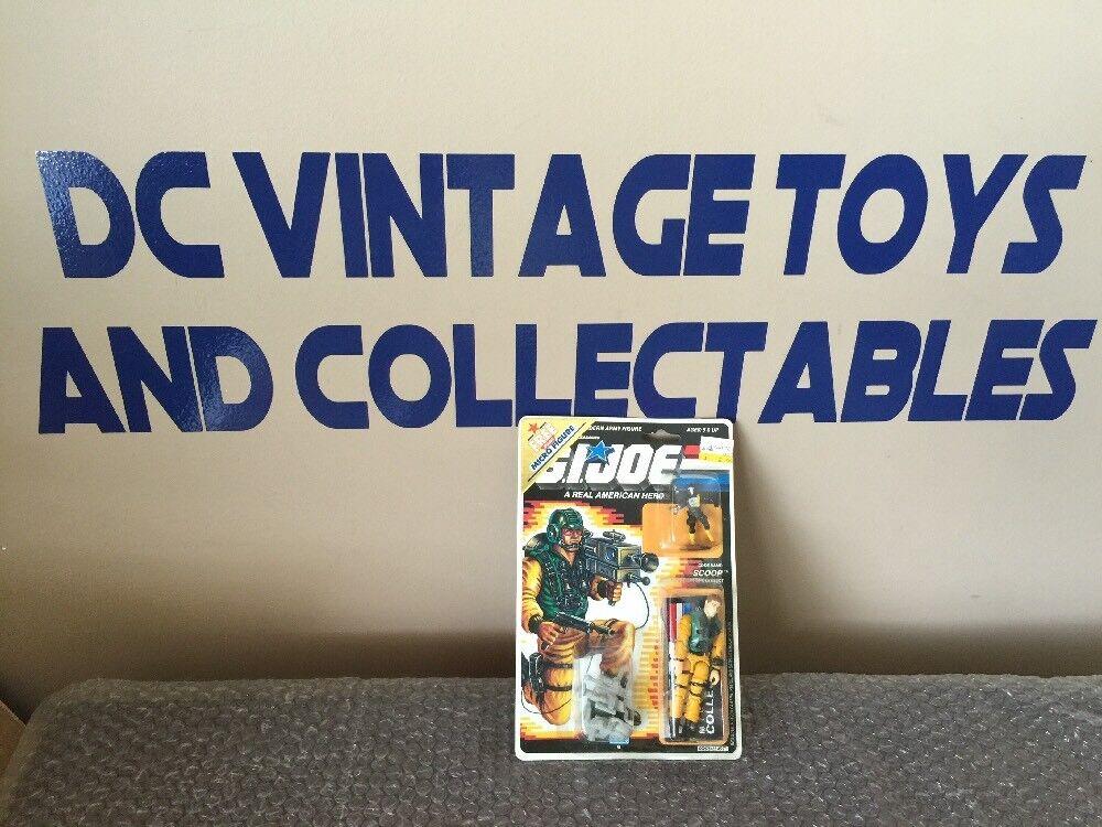 hasta un 60% de descuento Vintage Hasbro 1988 Nuevo Figura Gi joe Scoop 1988 1988 1988 Micro  venta caliente