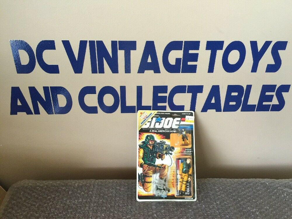 Vintage Hasbro 1988 NEW GI Joe Scoop 1988 Micro figure