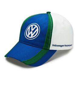 3574127b7937d La imagen se está cargando Original-VW-Motorsport-Gorra-De-Beisbol-Sombrero- Gorro-