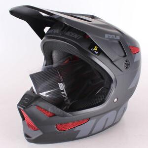 100-Status-MTB-Helm-Unisex-Erwachsene-schwarz-S-47-48-cm-Fahrradhelm
