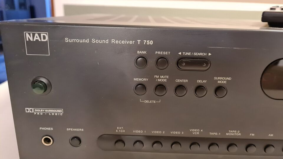 Receiver, Nad, T 750
