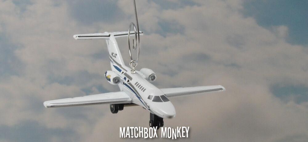 Cessna Citation CJ2 C-525 avión aeronave Avión Jet Adorno De Navidad Cocheta