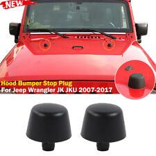 For Jeep Wrangler Jk Hood Bumper Stop Rubber Cushion Plug Set New Factory Parts Fits Jeep Wrangler Unlimited