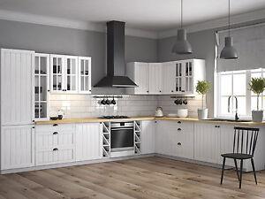 kuechenzeile einbaukuche prowansja l form erweiterbar kuche mdf - Kuchenzeile L Form